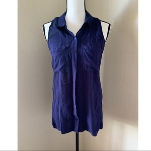 Rue 21 sleeveless Navy Blue